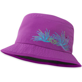 Outdoor Research Solstice Sun Bucket Kids ultraviolet